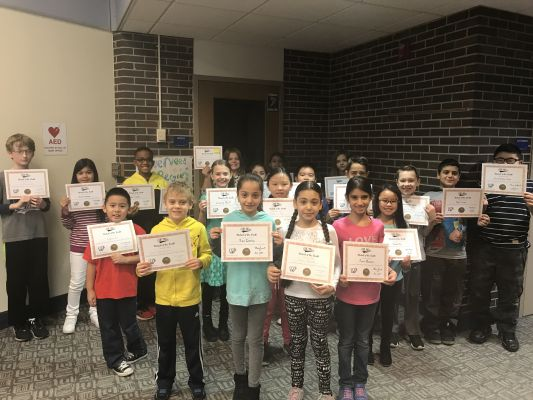 November Students of the Month 2